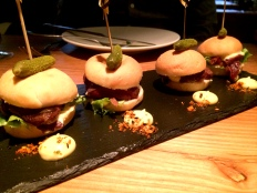 Puffin sliders at Grillmarkadurinn