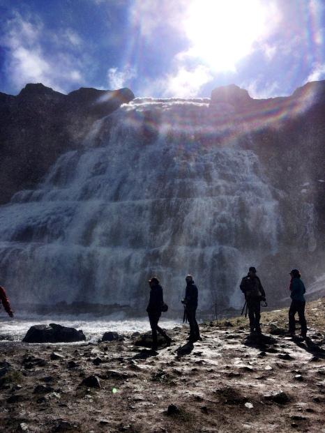 Dynjandi waterfalls